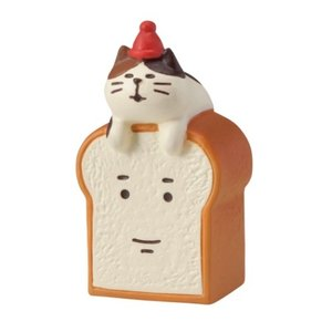 マスコット 猫と食パンさん やまねこベーカリー 焼きたてパンマルシェ concombre デコレ velkommen