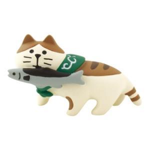 秋刀魚猫 お月見 竹の湯温泉 月夜のおもてなし concombre マスコット デコレ インテリア velkommen