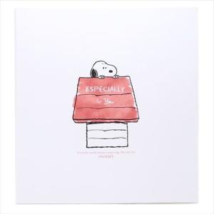 ポップアップアルバム色紙 メッセージボード スヌーピー 犬小屋 ピーナッツ デルフィーノ|velkommen