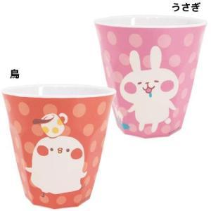 メラミンコップ メラミンカップ カナヘイ カナヘイの小動物 ドリームラッシュ メラミン食器 子供用コップ キャラクター|velkommen
