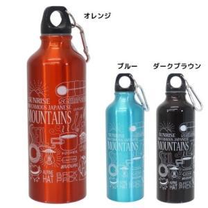 水筒 カラビナ付き アルミボトル 日本百名山 エイコー|velkommen