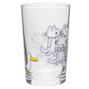 ガラスタンブラー グラス あほうどり 11ぴきのねこ エンスカイ 200ml ギフト食器 velkommen