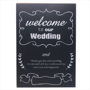ウエルカムボードキット ブライダル用品 チョークアート B4サイズ フロンティア 結婚式 二次会|velkommen