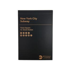 ブロック メモ State of New York MTA メモ帳 Sign グリーンフラッシュ ニ...