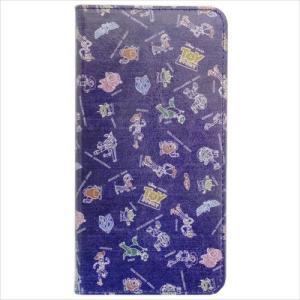 iPhone 8 Plus ケース アイフォン8プラス 手帳型フラップカバー トイストーリー グルマンディーズ ディズニー アイフォーン8+ 7+ 6+兼用 ダイアリージャケット|velkommen