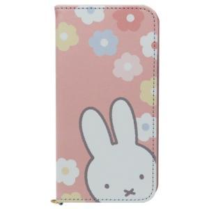 ミッフィー ディックブルーナ グッズ iPhone11 Pro ケース アイフォン11プロ 手帳型フリップカバー フラワー グルマンディーズ velkommen