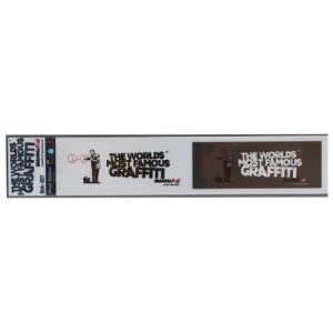 ミシン目カット 2pcs ステッカー ビッグ シール SF Doctor バンクシー Banksy ゼネラルステッカー 耐水耐光仕様|velkommen
