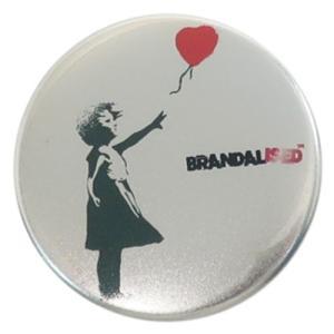缶バッジ 44mm カンバッジ Balloon Girl バンクシー Banksy ゼネラルステッカー|velkommen
