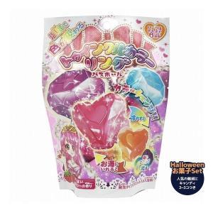 指輪が飛び出るバスボール 入浴剤 ハロウィン お菓子セット トゥインクルカラーリング キャンディ付き 子供向け Halloween ハロウィーン|velkommen