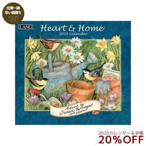 2020 壁掛け カレンダー ラング LANG HEART&HOME Susan Winget 340×610mm カントリー 風景|velkommen