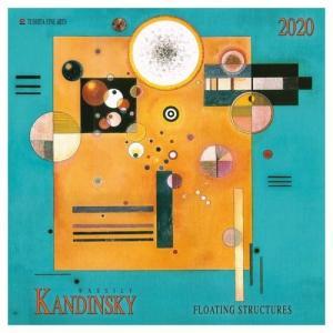 2020年 カレンダー アートカレンダー 壁掛け カンディンスキー KANDINSKY 海外 アート 輸入カレンダー TUSHITA 300×600mm|velkommen