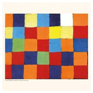 アートカレンダー 壁掛け 2020年 カレンダー パウルクレー PAUL KLEE Rectangular Colours TUSHITA 海外 アート 輸入カレンダー 300×600mm 絵画 名画 velkommen 03