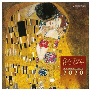 2020年 カレンダー アートカレンダー 壁掛け クリムト GUSTAV KLIMT Women 海外 アート 輸入カレンダー TUSHITA 300×600mm|velkommen