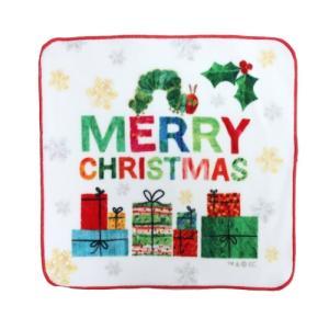 ミニタオル インクジェット ハンカチタオル はらぺこあおむし メリークリスマス エリックカール 林タオル velkommen