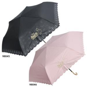 晴雨兼用 エンボス 折畳傘 折りたたみ傘 ふしぎの国のアリス ディズニー ジェイズプランニング 50...