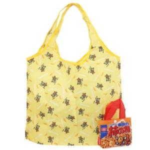 エコバッグ 柿の種 折りたたみ ショッピングバッグ おやつマーケット ジェイズプランニング ギフト 雑貨 お買い物かばん|velkommen