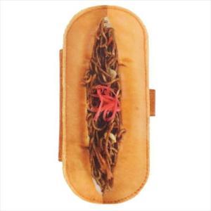 まるでパンみたいな スマートフォン カバー スマホ 汎用 マルチケース 焼きそばパン ケイカンパニー velkommen