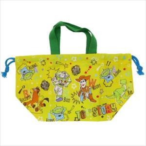 ランチ巾着 お弁当きんちゃくバッグ TOY STORY 18 トイストーリー ディズニー スケーター 19×16.5×12cm|velkommen