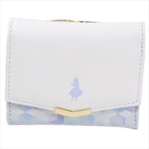 ミニウォレット 三つ折り財布 MY LITTLE DREAM ふしぎの国のアリス ディズニー カミオジャパン velkommen