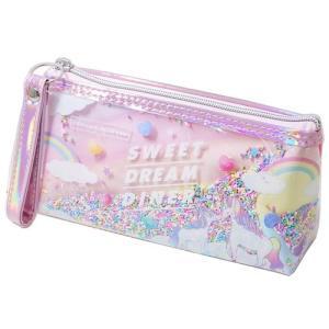 ストラップ付 ペンケース SWEET DREAM DINER 筆箱 カミオジャパン|velkommen