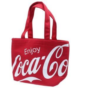 保冷ランチバッグ クーラー ミニトート コカコーラ レッド カミオジャパン CocaCola 約32×21×11cm お弁当かばん velkommen