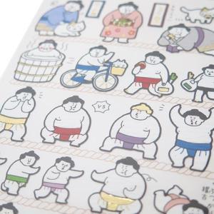 面白シール にほんのしーる 相撲 SUMOU2 インバウンド カミオジャパン 9.5×17.5cm|velkommen|02