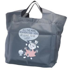 エコバッグ 底板付き ショッピングバッグ ミニ ムーミン リトルミイの日常 カミオジャパン 北欧 コンビニお買い物かばん|velkommen