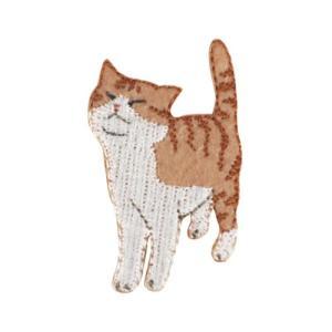 ワッペン 気ままなポーズの猫ワッペン ねこ ネコ2 清原 velkommen
