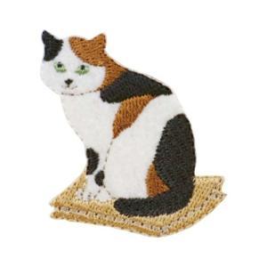 ワッペン 気ままなポーズの猫ワッペン ネコ3 清原 ねこ velkommen