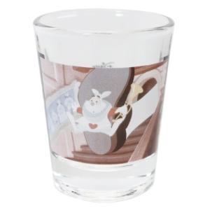 ミニグラス ショットグラス ディズニー ふしぎの国のアリス 白うさぎ マリモクラフト ミニガラスコップ プレゼント かわいい 女の子 ギフト食器 日本製 velkommen