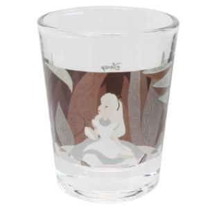 ミニグラス ショットグラス ふしぎの国のアリス ディズニー アリス座り マリモクラフト ミニガラスコップ プレゼント かわいい 女の子 ギフト食器 日本製 velkommen