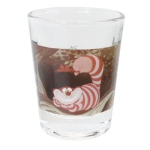 ミニグラス ショットグラス ふしぎの国のアリス チシャ猫 マリモクラフト ディズニー ミニガラスコップ プレゼント かわいい 女の子 ギフト食器 日本製 velkommen