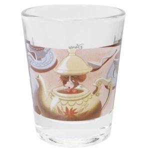ショットグラス ミニグラス ティーポット ふしぎの国のアリス ディズニー マリモクラフト ミニガラスコップ プレゼント かわいい 女の子 ギフト食器 日本製 velkommen
