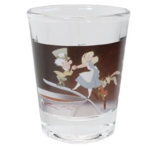 ショットグラス ミニグラス ディズニー ふしぎの国のアリス ティーカップ マリモクラフト ミニガラスコップ プレゼント かわいい 女の子 ギフト食器 日本製 velkommen