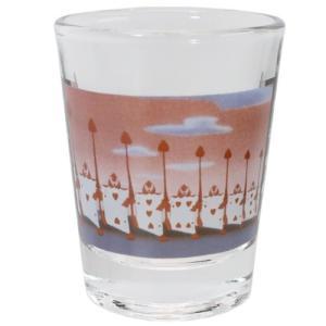 ショットグラス ミニグラス ふしぎの国のアリス トランプ兵 マリモクラフト ディズニー ミニガラスコップ プレゼント かわいい 女の子 ギフト食器 日本製 velkommen