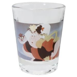 ショットグラス ミニグラス ふしぎの国のアリス ハートの女王 ディズニー マリモクラフト ミニガラスコップ プレゼント かわいい 女の子 ギフト食器 日本製 velkommen