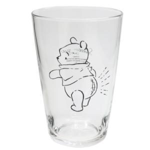 ガラスコップ ソックス グラス M くまのプーさん ふんわりプー 横向き マリモクラフト ディズニー ギフト食器 キャラクター velkommen