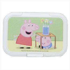 Bitatto ビタット ウェットティッシュトのフタ ペッパピッグ Peppa Pig マリモクラフト 90×51mm以下 velkommen