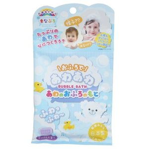 まなぶろ あわのおふろのもとバブルバス 入浴剤 せっけんの香り ノルコーポレーション 9.5×18cm 子供とお風呂|velkommen
