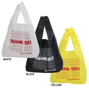 折りたたみ ショッピングバッグ エコバッグ THANK YOU オクタニコーポレーション お買い物かばん|velkommen
