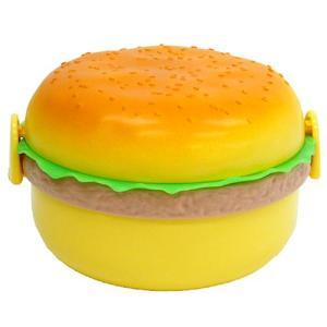 ランチボックス ハンバーガー M 面白弁当箱 プレゼント velkommen