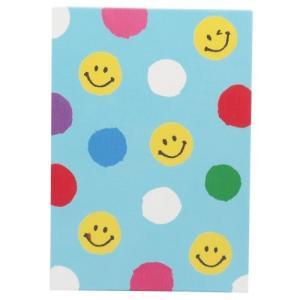 スマイリー サインブック てのひら 御朱印帳 にこにこみずたま SMILEY オリエンタルベリー 11.3×15.7cm|velkommen