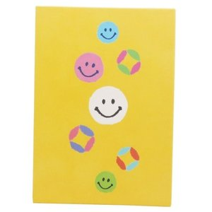 スマイリー サインブック 笑福七宝 てのひら 御朱印帳 SMILEY オリエンタルベリー 11.3×15.7cm 和雑貨|velkommen