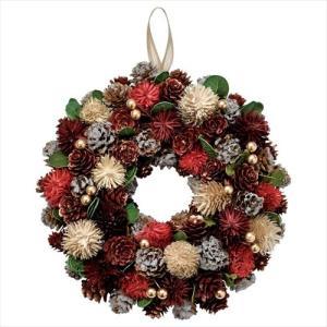 ミックスベリーリースM クリスマスリース Xmas レッド パセオ 直径24cm velkommen