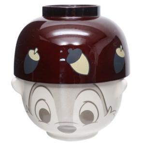 ミニ茶碗 & 汁椀セット ご飯セット チップ&デール ディズニー Chip サンアート 10.5×10.5×8.5cm 新生活準備雑貨|velkommen