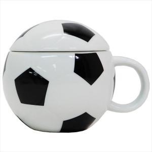 ふた付きボールマグ マグカップ サッカー  サンアート 180ml ギフト食器 クリスマス ギフト|velkommen