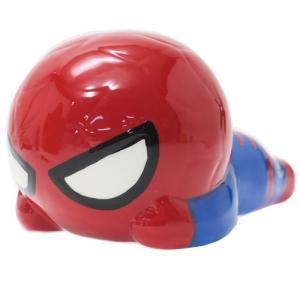 貯金箱 セラミックフィギュアバンク スパイダーマン KAWAIIシリーズ サンアート マーベル ギフトZAKKA|velkommen