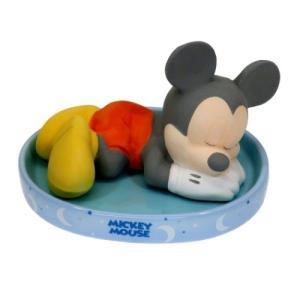ナチュラル 素焼き 加湿器 卓上 加湿器 おやすみシリーズ ミッキーマウス ディズニー サンアート 電源不要エコ雑貨 velkommen