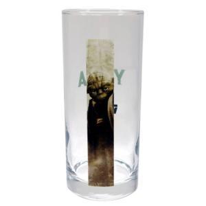フルカラー ロンググラス ガラス タンブラー スターウォーズ ヨーダ サンアート STAR WARS 390ml velkommen