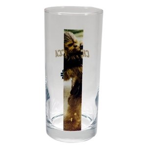 ガラス タンブラー フルカラー ロンググラス スターウォーズ チューバッカ サンアート STAR WARS 390ml ギフト食器 velkommen